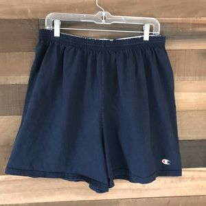 Vintage champion athletic shorts men's Xl